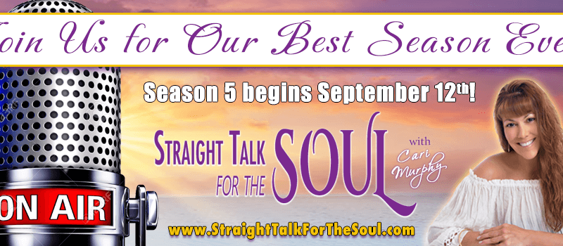 "Kim Regnitz Live talk on ""Straight Talk for the Soul"" With Cari Murphy 9/26/17"