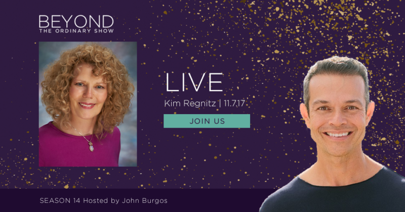 "Kim Regnitz Live on John Burgos' ""Beyond the Ordinary"" Show!"